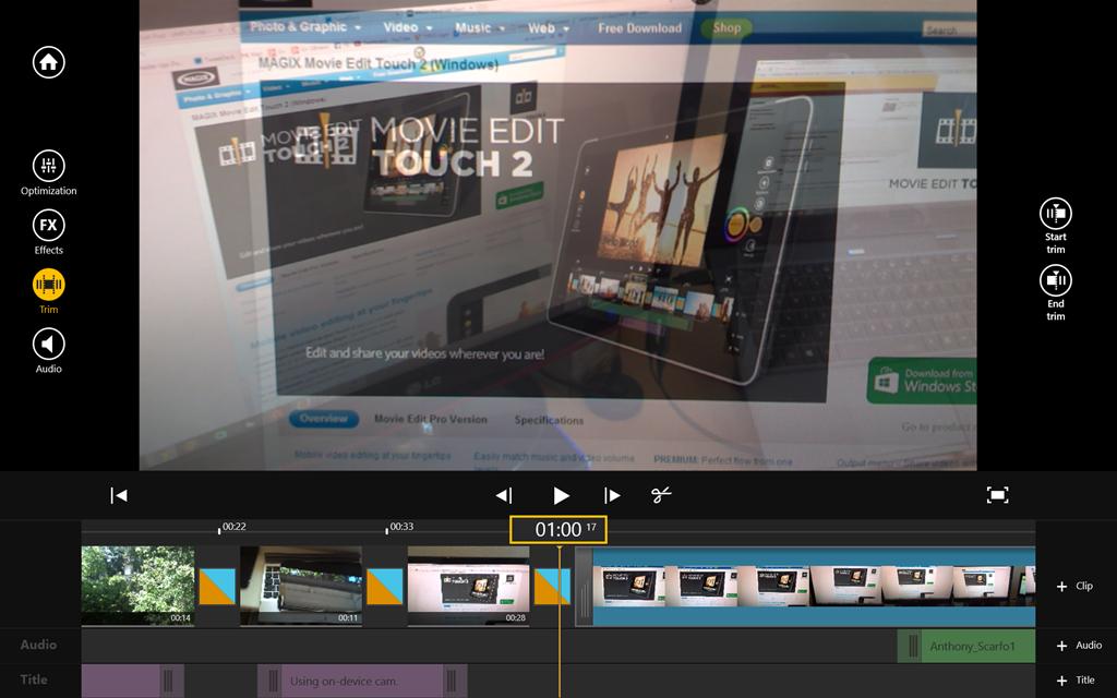 Movie Edit Touch 2