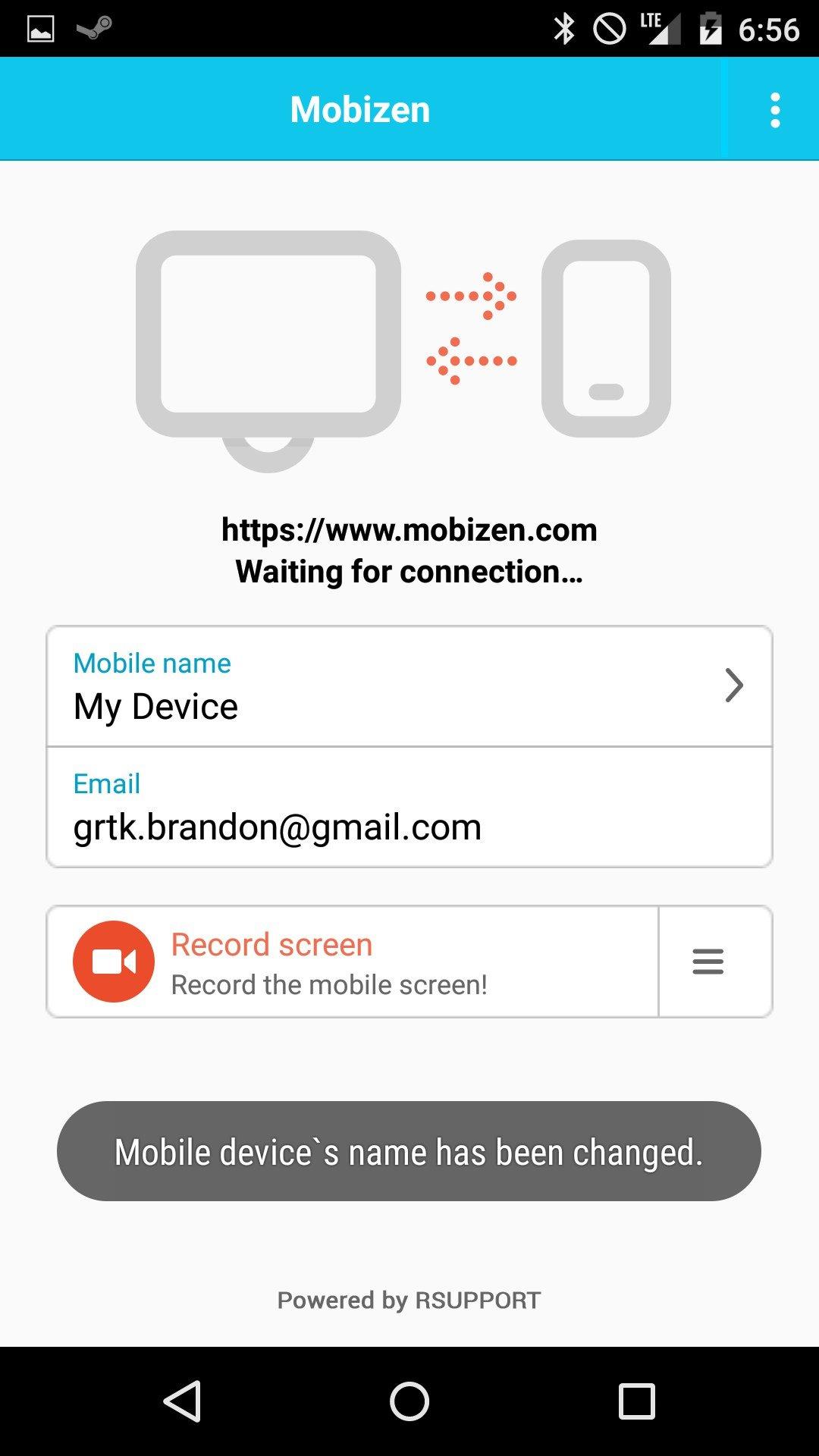 Mobizen (cf. app4smart.com)