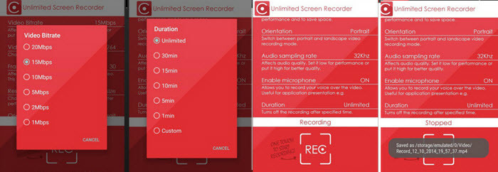 Unlimited Screen Recorder