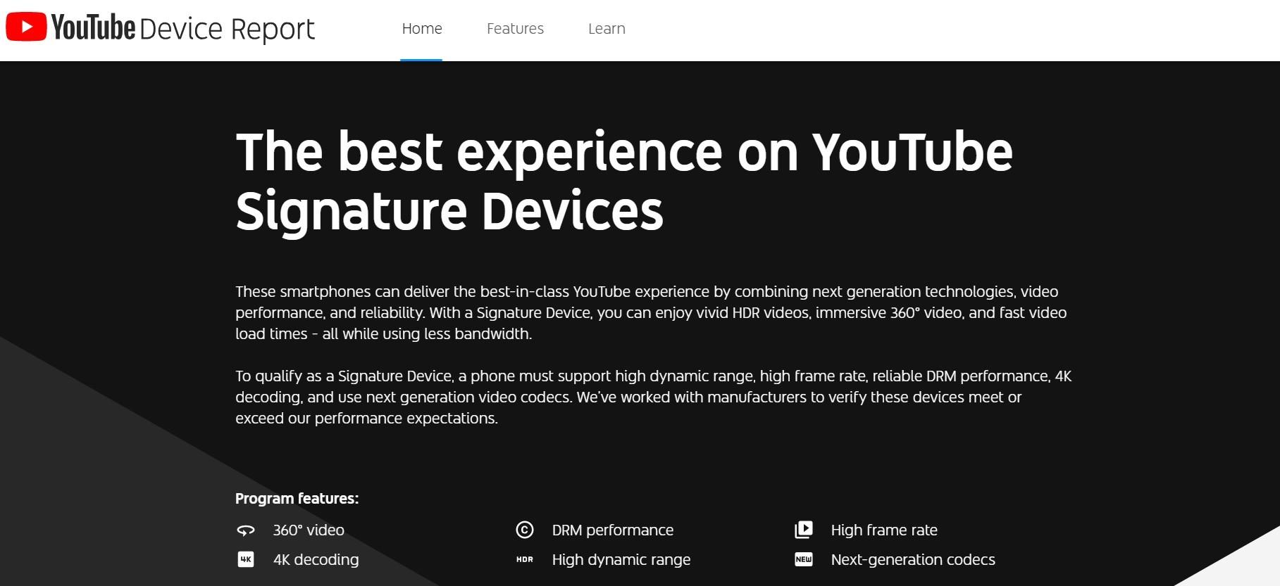 YouTube recommande maintenant les meilleurs téléphones pour la lecture vidéo