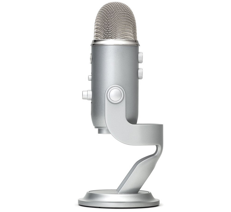 Blue Microphones - Microphone USB Yeti Argent Silver Edition