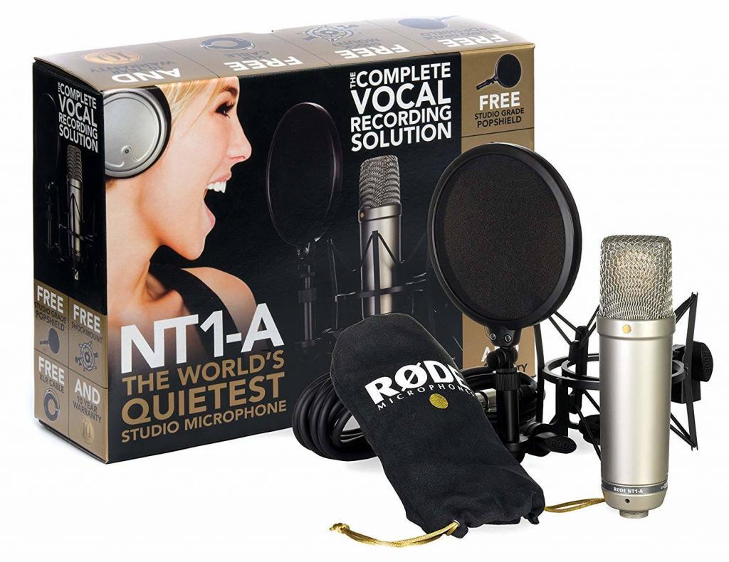 Kit RODE NT1-A Complete Vocal Recording Pack