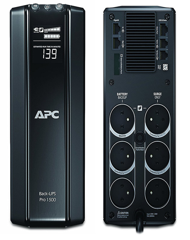 APC BY SCHNEIDER ELECTRIC APC Power-Saving Back-UPS PRO Onduleur 1500-VA