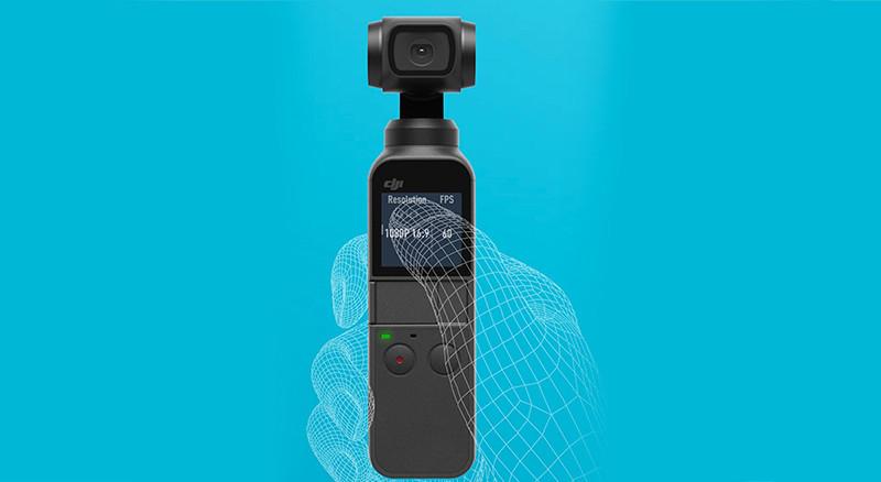 DJI Osmo Pocket 3 Axes Cardan Stabilisateur avec Caméra intégrée