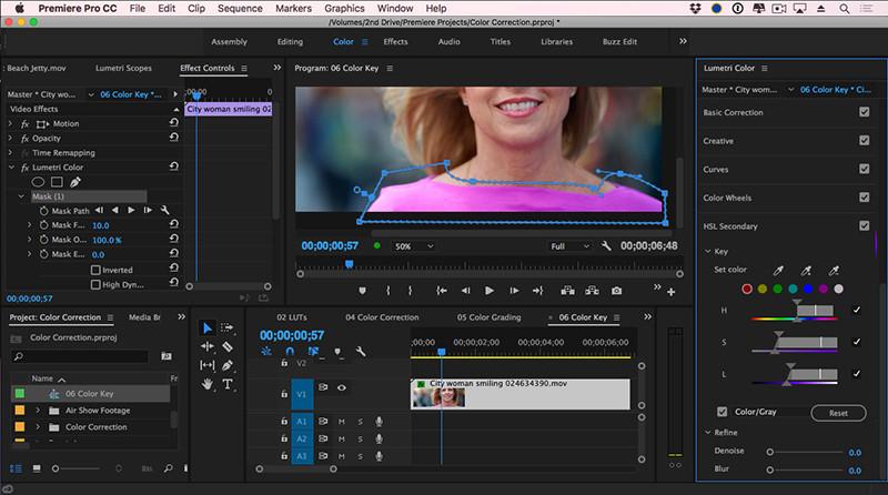 Logiciels de retouche video gratuits - Adobe Premiere Pro