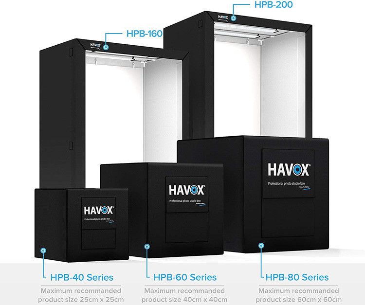 HAVOX - Studio Photo HPB-60D - Dimension 60x60x60cm