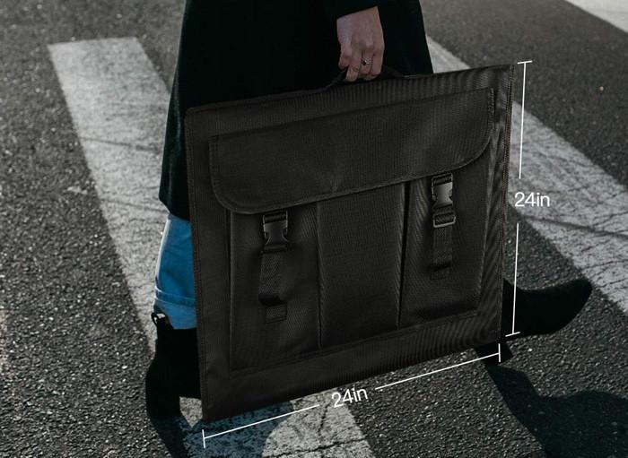 Test du FOSITAN Studio Photo 60x60x60cm Boîte de Lumière Tente Portable Pliable avec 5 trépieds