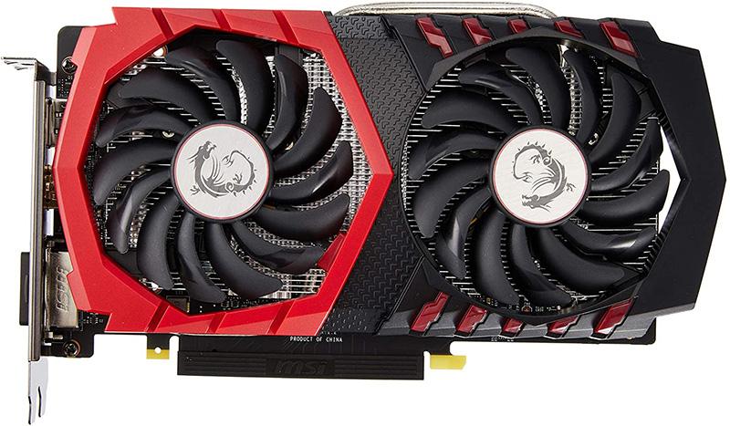 Avis Carte Graphique MSI GeForce GTX 1050 Ti Gaming X 4G & EVGA 600 W1