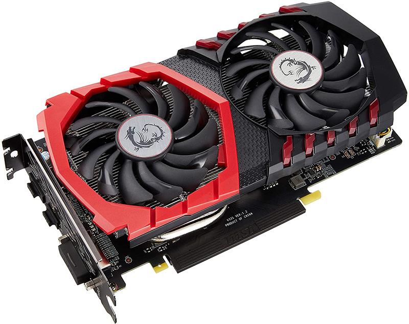 Carte Graphique MSI GeForce GTX 1050 Ti Gaming X 4G & EVGA 600 W1