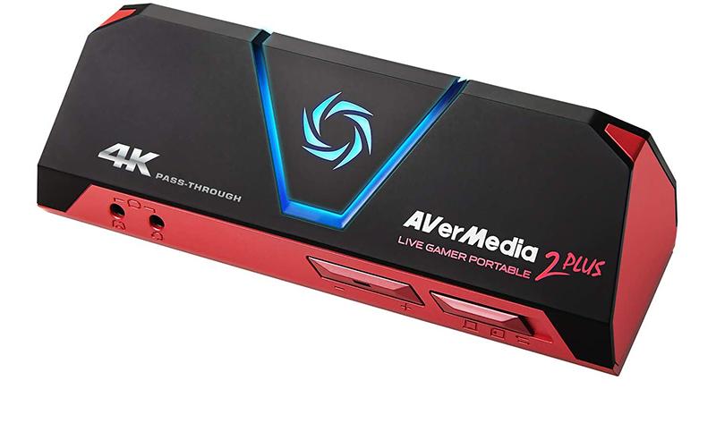 Avis - AverMedia Live Gamer Portable 2 Plus - 4K Pass Through, Enregistrez et Streamez vos gameplays en 1080p60, pour PS4 Pro, Xbox One X, Plug&Play, Faible latence avec et sans pc sur carte MicroSD