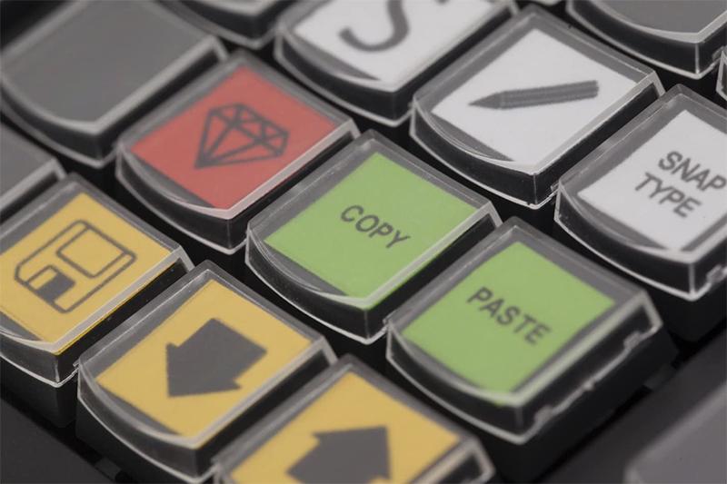 Avis - Expertkeys EK-58 Free programmable 58 Key USB keypadKeyboard by