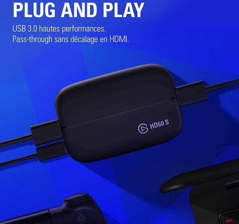 Test Avis sur le Elgato Capture HD60 S