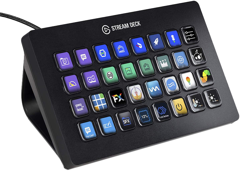 Test - Elgato Stream Deck XL - Contrôlez Vos Flux à la Perfection, 32 Touches LCD Entièrement Personnali-Sables, pour Windows 10 (64-bit), MacOS 10.13 ou Version Plus Récente