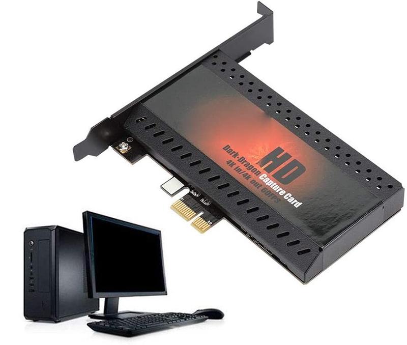 Test et avis - Bewinner Carte de Capture vidéo, Carte d'acquisition vidéo sans Lecteur PCIe vers HDMI, Carte de Capture HDMI pour la série Windows pour la série Linux pour Mac OS