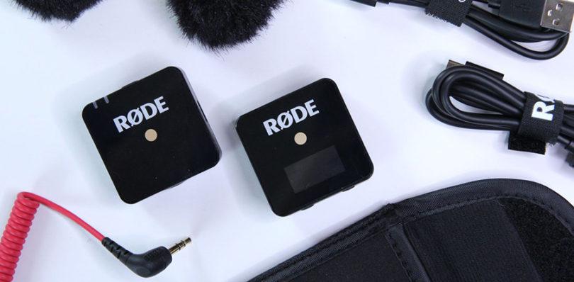 Comparatif RØDE Wireless Go Système de Microphone Compact et sans Fil