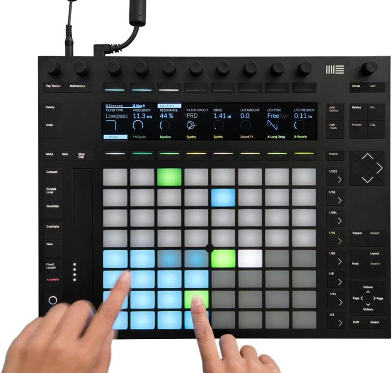 avis - Ableton Push 2 + Contrôleur Ableton Live 9 Intro