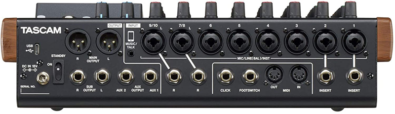 avis - Tascam Enregistreur numérique multi-pistes Modèle 12
