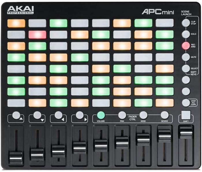 test - AKAI Professional APC MINI Contrôleur MIDI Ultraléger pour Ableton Live