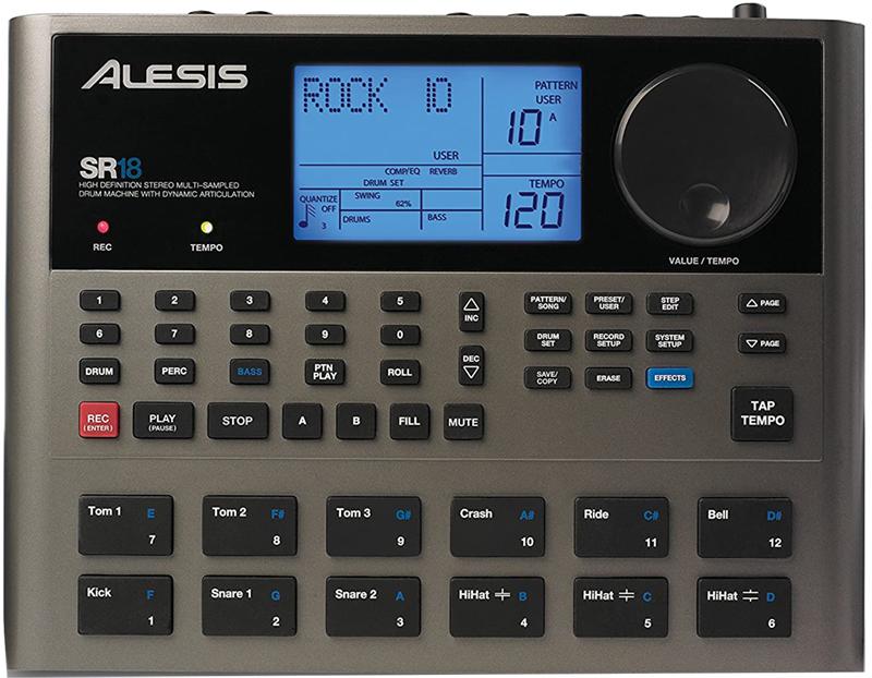 test - Alesis SR-18 – Boîte à Rythmes de Qualité Studio Professionnelle