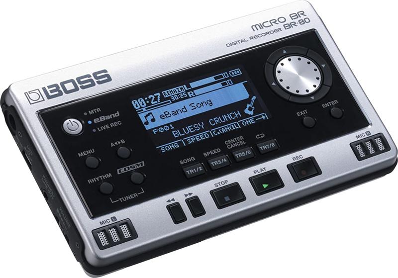 test - Boss 411141E99 BR-80 Enregistreur portable numérique