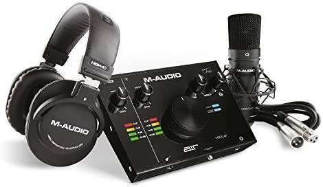 test - M-Audio AIR 192,4 Vocal Studio Pro – Pack d'enregistrement complet