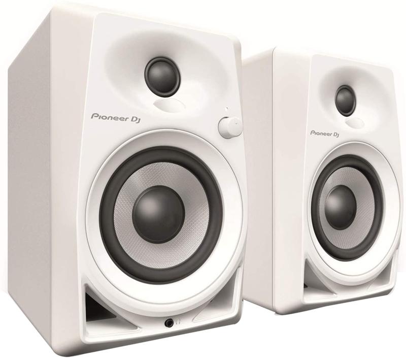 test - Pioneer DJ DM-40-W White Studio Monitors