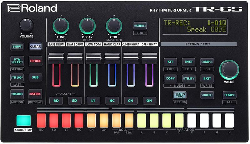 test - Roland TR-6S Compact Drum Machine