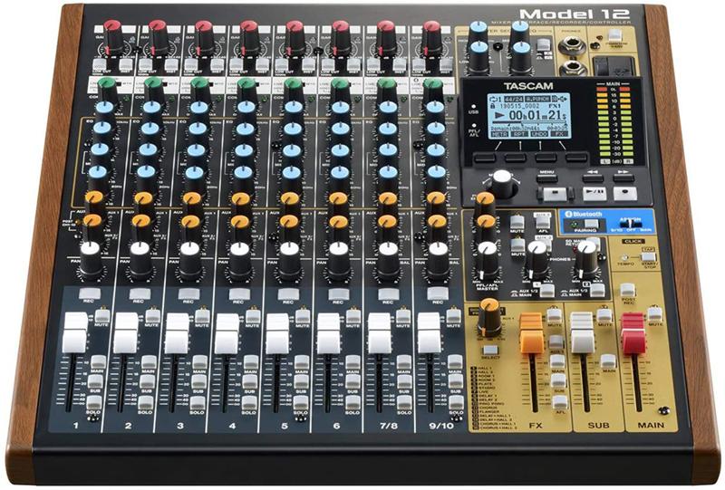 test - Tascam Enregistreur numérique multi-pistes Modèle 12