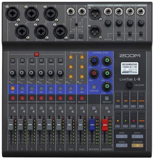 test - Zoom enregistreur ultipiste L-8