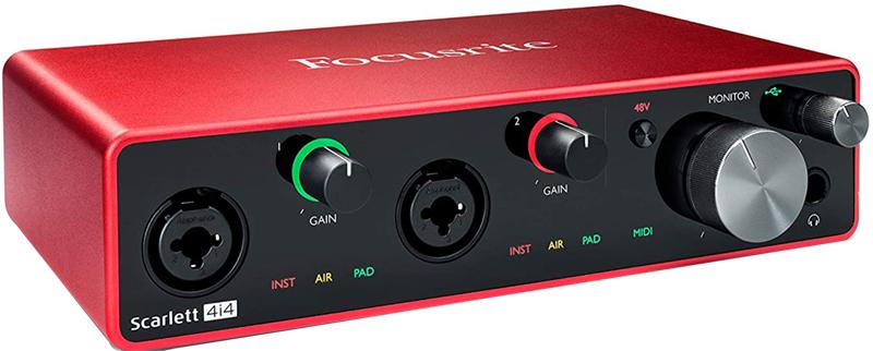 Test - Focusrite Scarlett 4i4 3rd Gen Audio Interface