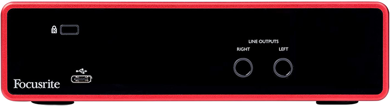 avis - Focusrite Scarlett 2i2 3rd Gen Audio Interface