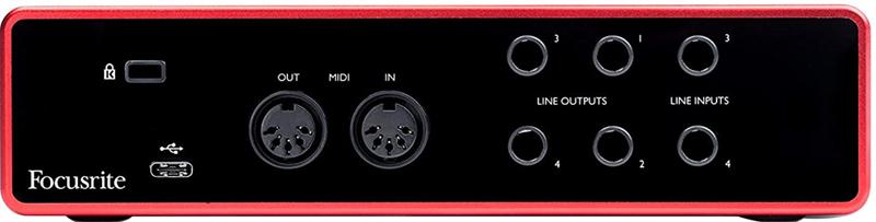 avis - Focusrite Scarlett 4i4 3rd Gen Audio Interface